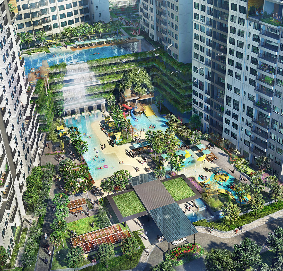 The Infiniti Riviera Point Keppel Land